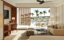 live aqua premium pool view living room