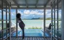 Premium Waterfront Pool Suite Private Plunge