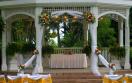 hilton resort spa rose hall gazebo wedding setup jpg