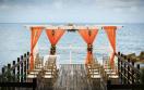 Jewel Paradise Cove Beach Resort  - Dock Wedding Setup