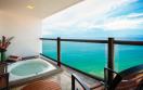 Hyatt Ziva Puerto Vallarta Mexico - Club Ocean Front Hot Tub King